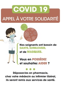 Collecte Solidarite Soignants Pharmonweb